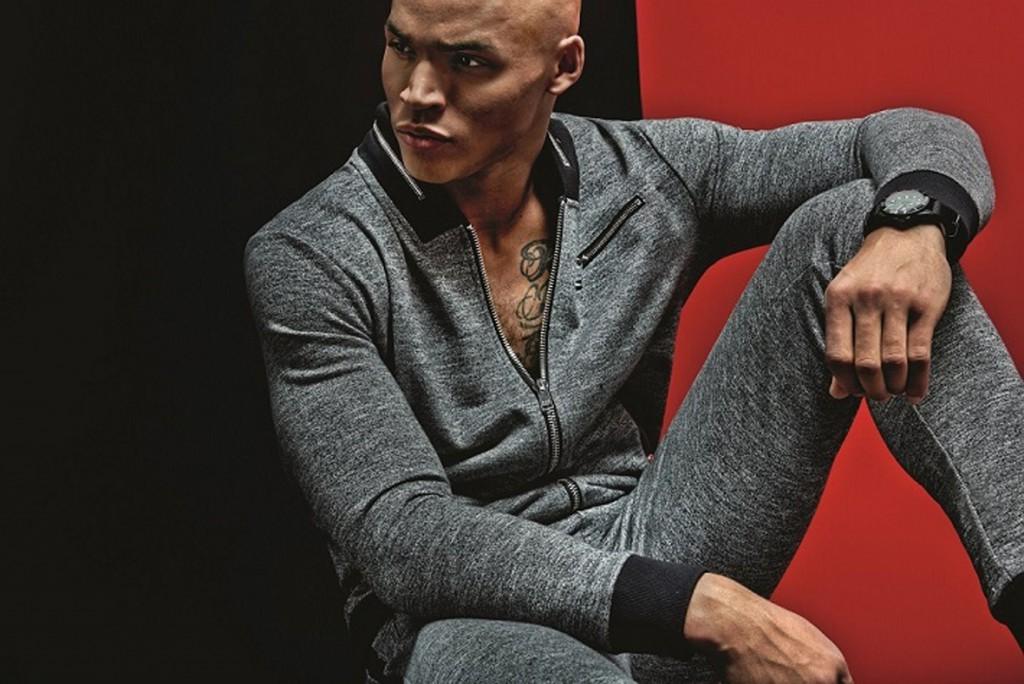 l 39 homme izac change de style pour se convertir au sportswear. Black Bedroom Furniture Sets. Home Design Ideas