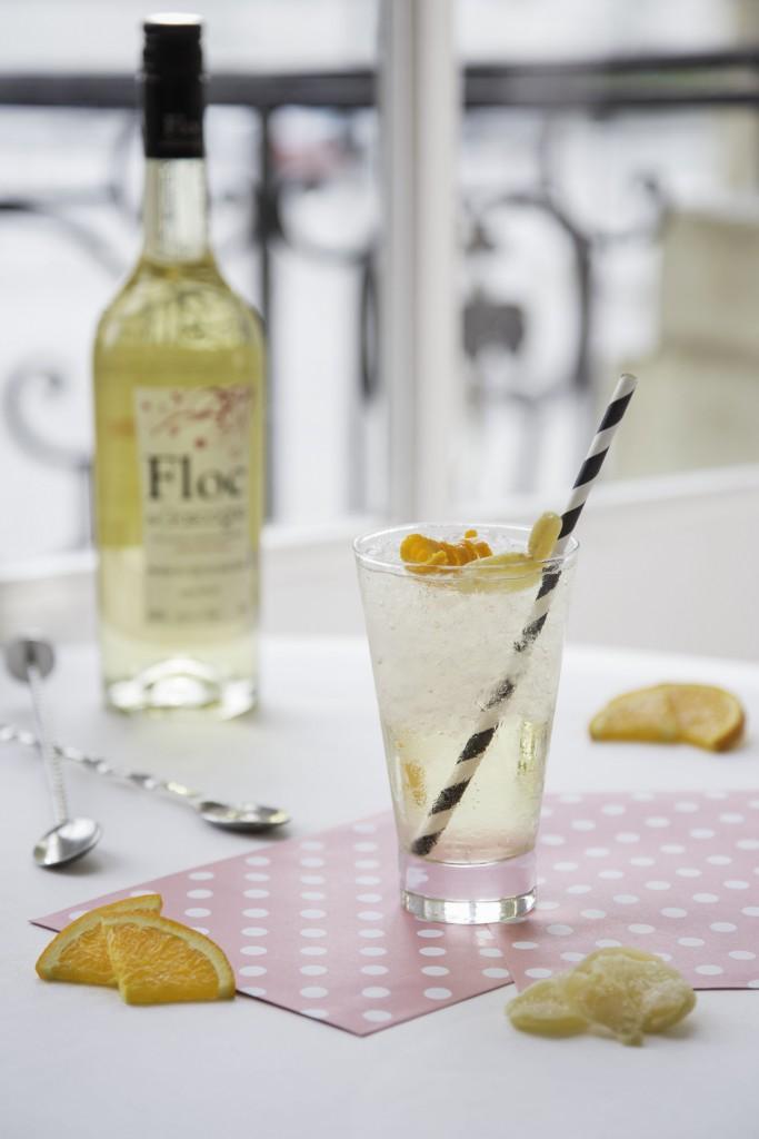Cocktail au floc de gascogne