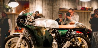 Tendance Roadster présente sa dernière création : la Royal Enfield Continental Circus.