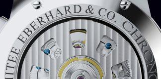 EBERHARD & CO CHRONO 4 130 EDITION LIMITÉE 130 ans