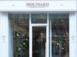 Façade boutique Molinard Paris
