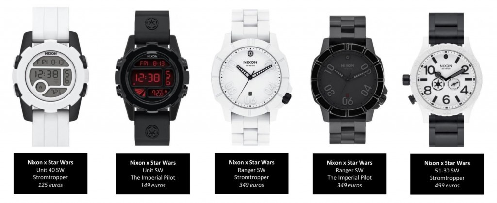 Collection Capsule Star Wars NixonTimefy