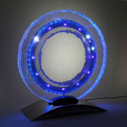 Alainpers blue ring clock