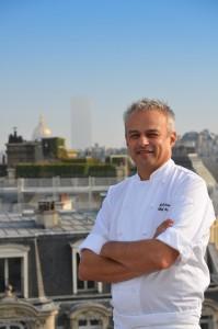 Restaurant Maison Blanche Chef Fabrice Giraud