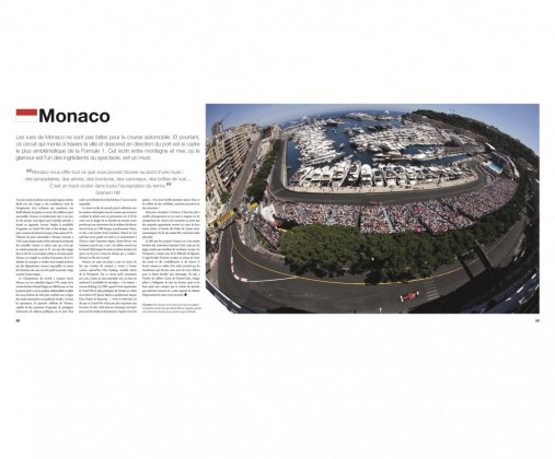 Formule 1 Circuits vus du ciels, par Bruce Jones, aux Editions Art & Images - extrait