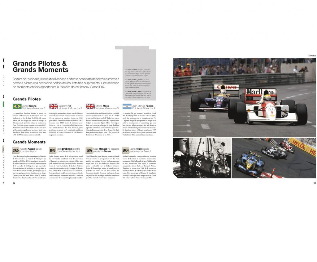 Formule 1 Circuits vus du ciels, par Bruce Jones, aux Editions Art & Images - couv