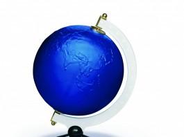 La Terre Bleue, Yves Klein by Lalique