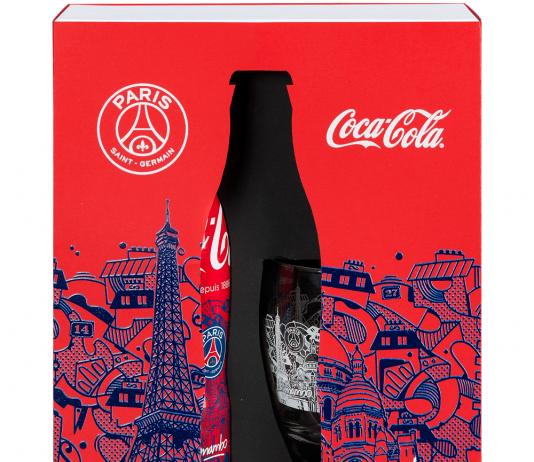 Coca Cola PSG édition collector