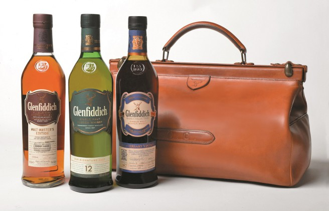 Coffret Glenfiddich Charles Gordon's Bag