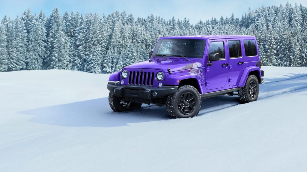 Série limirée Jeep 2016