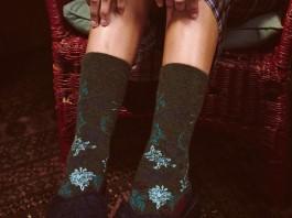 Chaussettes femme Poler x Stance