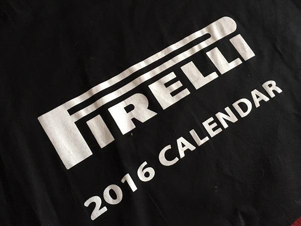 Calendrier Pirelli 2016