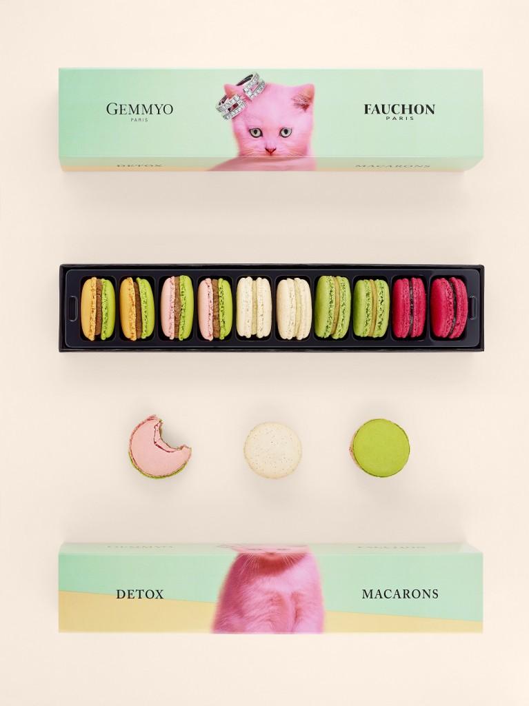 Ecrin macarons Gemmyo x Fauchon