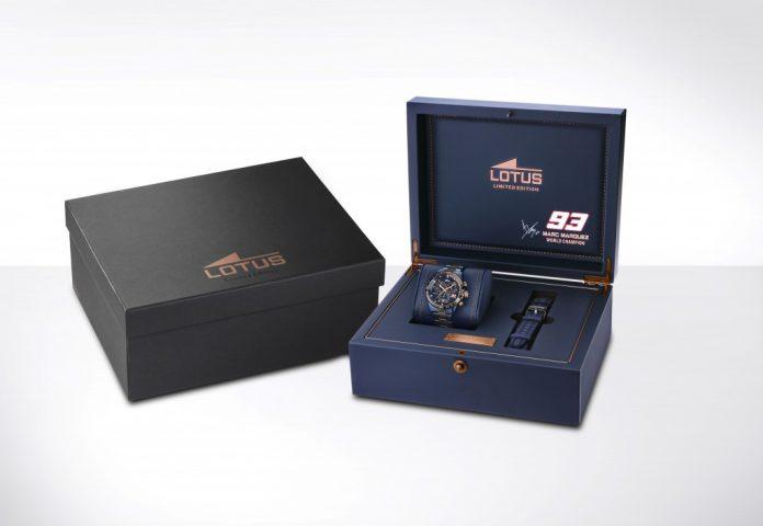 Édition limitée Lotus watches de la collection Marc Marquez