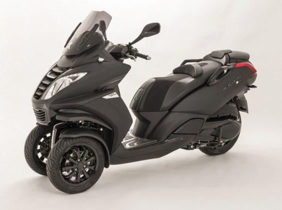 série limitée Metropolis Black Edition de PEUGEOT Scooters