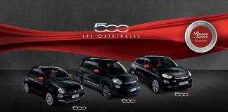 Fiat 500 Séries limitées « Rosso Amore Edizione »
