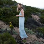 Collection capsule Montauk Blues de J Brand )credit Grant Legan Michelle Madsen and Brittany Xavier