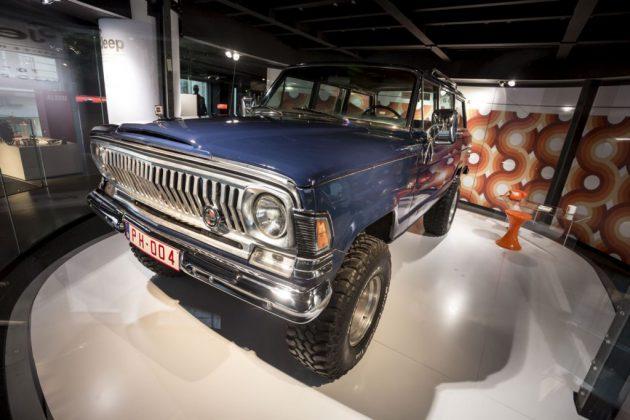 Anniversaire 75 ans Jeep
