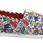 TOMS s'associe à la Fondation Keith Haring pour célébrer l'art ,