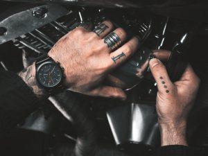 Black Vintage Chevignon x Louis Pion