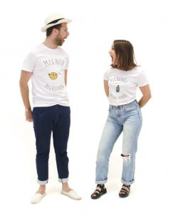 Meetic x thetops t-shirt Mignon