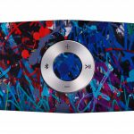 LG x JonOne Enceintes Portable P5 bleues