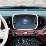 Édition exclusive Fiat 500 Riva tableau de bord