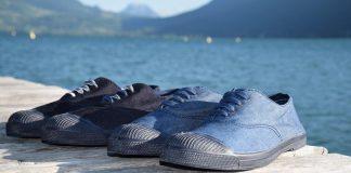 JagVi x Bensimon Edition limitée, deux chaussures