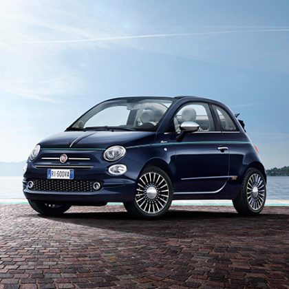 Édition exclusive Fiat 500 Riva