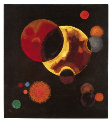 Heavy Circles - Wassily Kandisnsky - Credit Art Digital Studio
