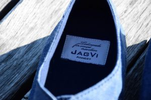 JagVi x Bensimon Edition limitée, intérieur de la chaussure