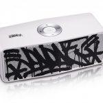 LG x JonOne Enceintes Portable P5 Noir et blanc