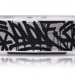 LG x JonOne Enceintes Portable P5 Noir et blanc 2