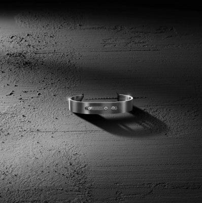 Bracelet Messika Move Titanium anthracite