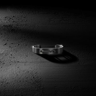 Bracelet Messika Move Titanium noir