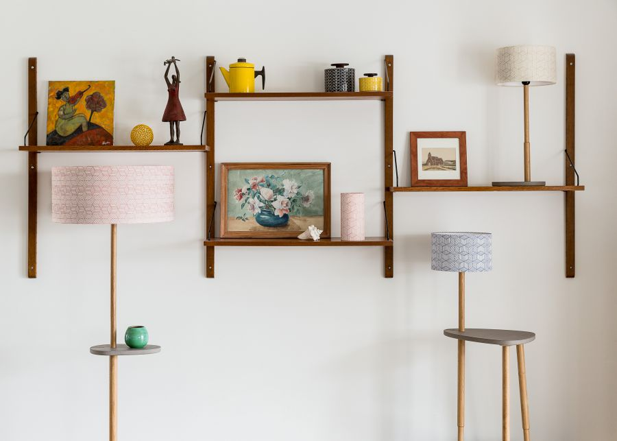 une collaboration charmante de luminaires maison objet. Black Bedroom Furniture Sets. Home Design Ideas
