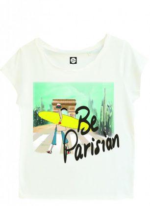 T-shirt blanc 3 Be Parisian Le Bon Marché