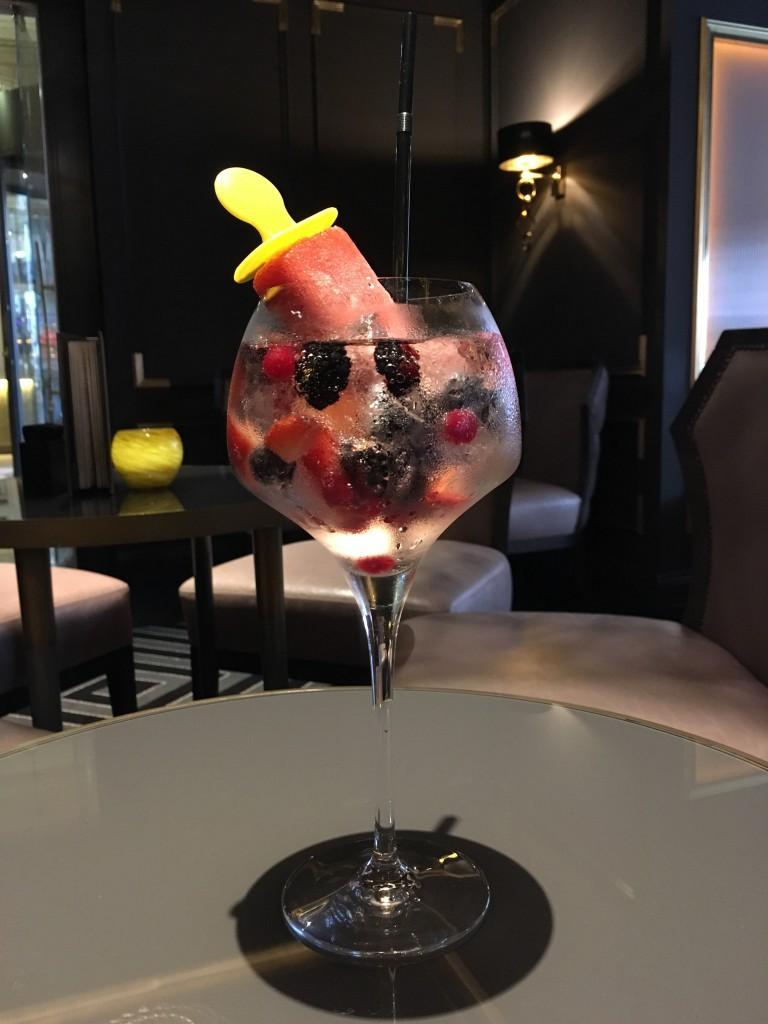 Popsicle Cocktails Hilton Opéra 2016