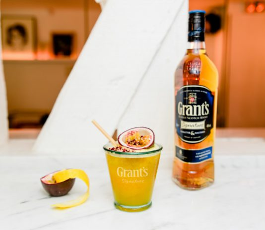 Grant's x Lavomatic : cocktails