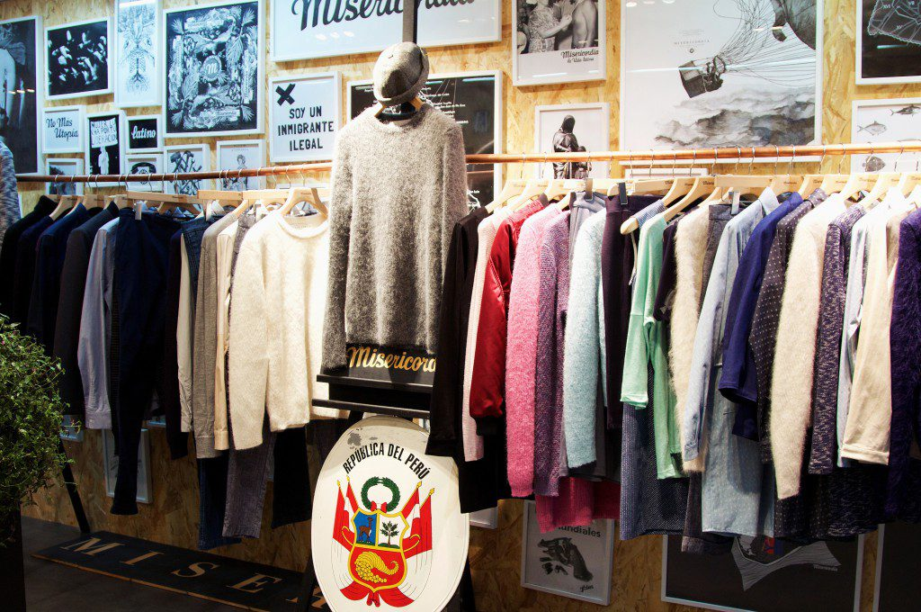 Pop-up store Les Expatriés x Misericordia