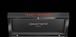 Caran d'Ache Year of the Rooster