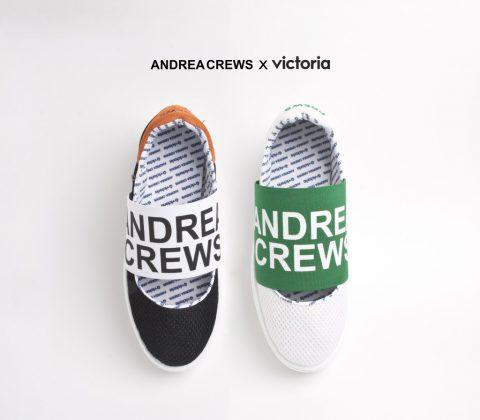 Andrea Crews x Victoria
