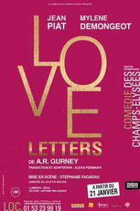 Love letters - comedie des Champs-Elysées