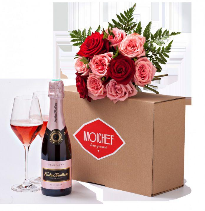Box spécial Saint-Valentin Nicolas Feuillate