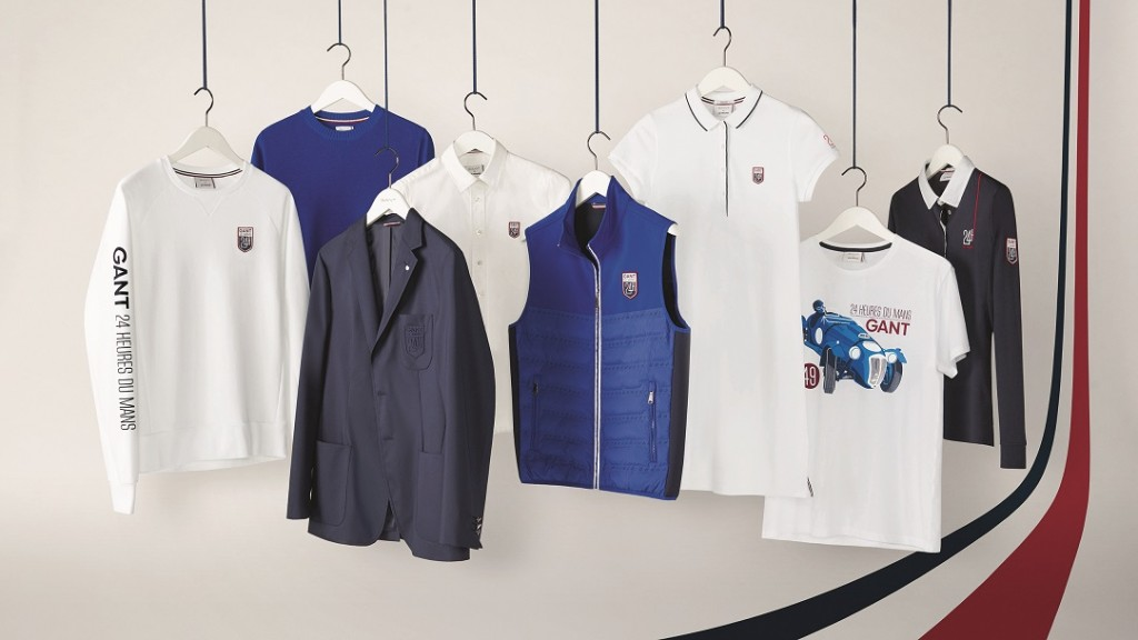 collection de polos tee shirts sweat shirt chemise gant x 24h du mans. Black Bedroom Furniture Sets. Home Design Ideas