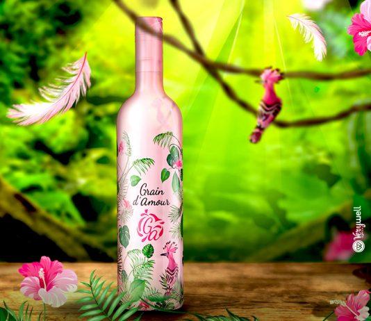 Vin rosé Grain D'amour - collector