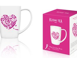 Octobre Rose Kusmi Tea