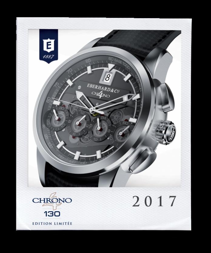 Montre Chrono 4 édition limitée Eberhard & Co