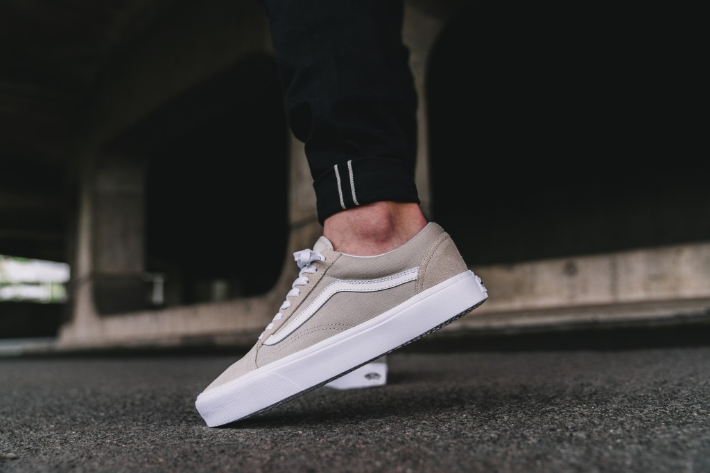 vans blanche foot locker