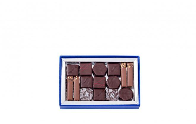 La Maison du Chocolat -Coffret T1 ouvert - 22€